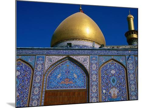 Abul Al Fadhil Al Ababasi Shrine, Karbala, Karbala, Iraq-Jane Sweeney-Mounted Photographic Print