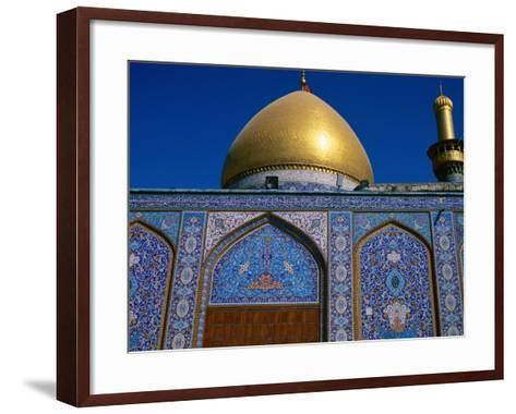 Abul Al Fadhil Al Ababasi Shrine, Karbala, Karbala, Iraq-Jane Sweeney-Framed Art Print