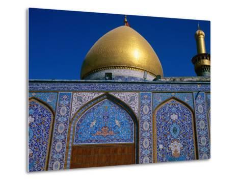 Abul Al Fadhil Al Ababasi Shrine, Karbala, Karbala, Iraq-Jane Sweeney-Metal Print
