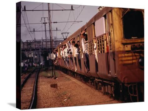 Suburban Train, Chennai, India-Eddie Gerald-Stretched Canvas Print