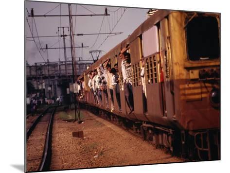 Suburban Train, Chennai, India-Eddie Gerald-Mounted Photographic Print