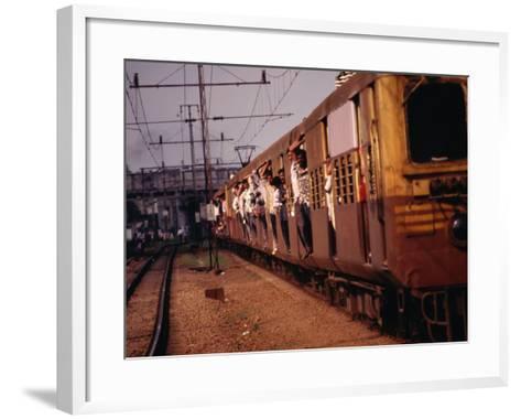Suburban Train, Chennai, India-Eddie Gerald-Framed Art Print