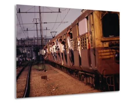 Suburban Train, Chennai, India-Eddie Gerald-Metal Print