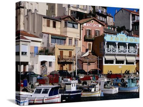 Harbour of Vallon Des Auffes, Marseille, France-Jean-Bernard Carillet-Stretched Canvas Print