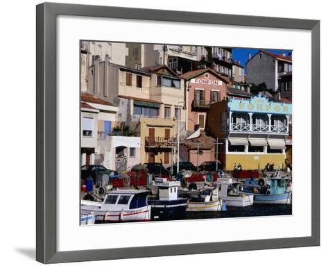 Harbour of Vallon Des Auffes, Marseille, France-Jean-Bernard Carillet-Framed Art Print