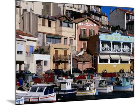 Harbour of Vallon Des Auffes, Marseille, France-Jean-Bernard Carillet-Mounted Photographic Print