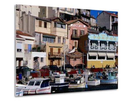 Harbour of Vallon Des Auffes, Marseille, France-Jean-Bernard Carillet-Metal Print