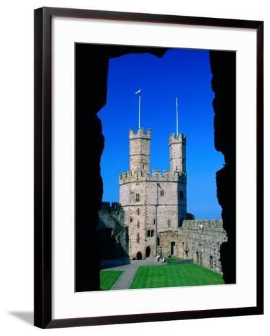 Caernarfon Castle, Gwynedd, Wales-Grant Dixon-Framed Art Print