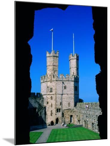 Caernarfon Castle, Gwynedd, Wales-Grant Dixon-Mounted Photographic Print
