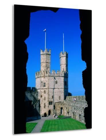 Caernarfon Castle, Gwynedd, Wales-Grant Dixon-Metal Print