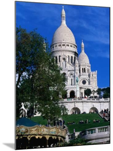 The Sacre Coeur Basilica is Located at the Top of Montmatre (Marty'R Hill) in Paris, France-Doug McKinlay-Mounted Photographic Print