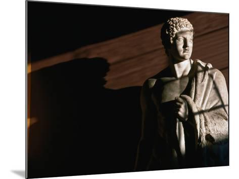 Statue of Hercules at Thorvaldsens Museum, Copenhagen, Denmark-Martin Moos-Mounted Photographic Print