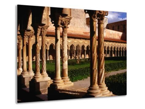 Duomo Cloister (12th Century), Monreale, Italy-Wayne Walton-Metal Print