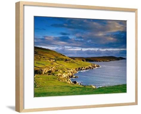 Crow Head at Dursey Sound Near Allihies, Allihies, Ireland-Richard Cummins-Framed Art Print