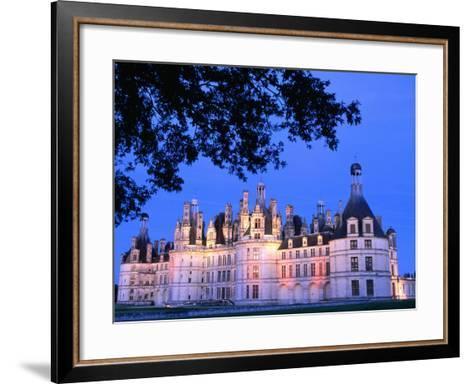 Chateau Chambord in Loire Valley, Chambord, France-John Banagan-Framed Art Print