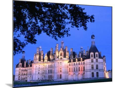 Chateau Chambord in Loire Valley, Chambord, France-John Banagan-Mounted Photographic Print