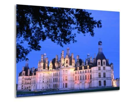 Chateau Chambord in Loire Valley, Chambord, France-John Banagan-Metal Print