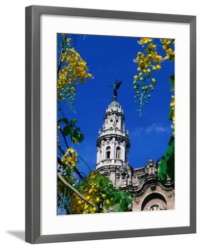 Gran Teatro De La Havana, Opera House, Havana, Cuba-Greg Johnston-Framed Art Print