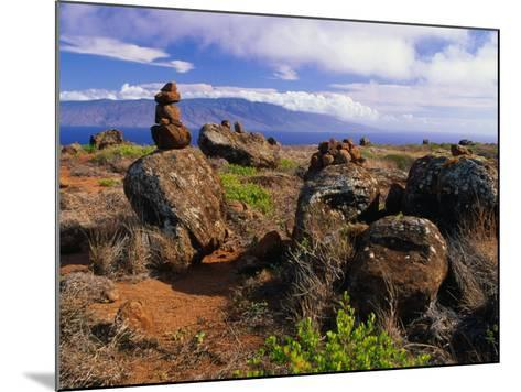 The Garden of the Gods, Lanai, Hawaii, USA-Ann Cecil-Mounted Photographic Print