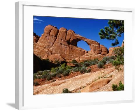 Skyline Arch, Arches National Park, Arches National Park, Utah, USA-Carol Polich-Framed Art Print