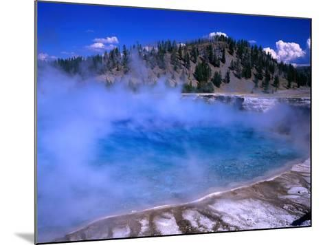 Lower Geyser Basin Yellowstone National Park, Wyoming, USA-Rob Blakers-Mounted Photographic Print