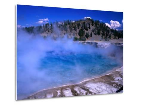 Lower Geyser Basin Yellowstone National Park, Wyoming, USA-Rob Blakers-Metal Print