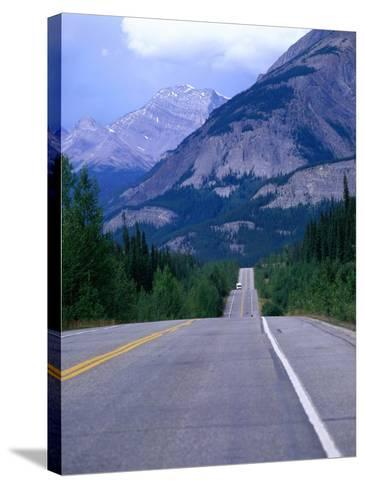 Icefield Parkway, Banff, Alberta, Canada-Jan Stromme-Stretched Canvas Print