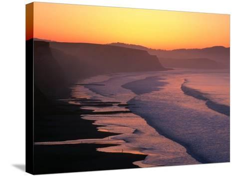 Drakes Bay at Sunrise, Point Reyes National Seashore, USA-John Elk III-Stretched Canvas Print