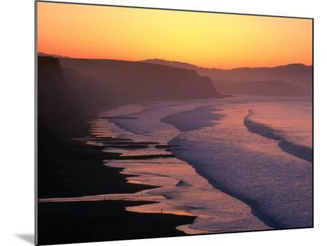 Drakes Bay at Sunrise, Point Reyes National Seashore, USA-John Elk III-Mounted Photographic Print