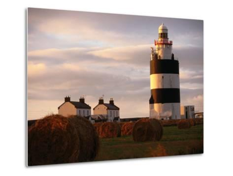 The Hook Head Lighthouse in County Wexford Was Built in the 13th Century Ireland-Doug McKinlay-Metal Print