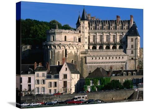 Chateau D'Amboise, Loire Valley, Amboise, France-John Elk III-Stretched Canvas Print