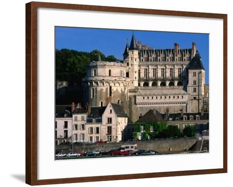 Chateau D'Amboise, Loire Valley, Amboise, France-John Elk III-Framed Art Print