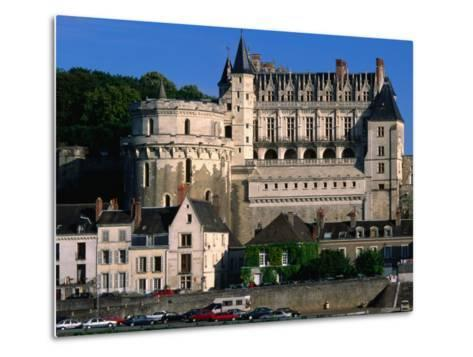 Chateau D'Amboise, Loire Valley, Amboise, France-John Elk III-Metal Print