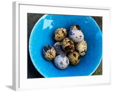 Uzura Tamago, Quail Eggs, Are Considered a Delicacy and Usually Eaten Hard-Boiled, Japan,-Oliver Strewe-Framed Art Print