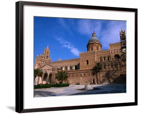 Exterior of Cathedral, Palermo, Sicily, Italy-Stephen Saks-Framed Art Print