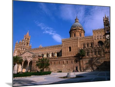 Exterior of Cathedral, Palermo, Sicily, Italy-Stephen Saks-Mounted Photographic Print