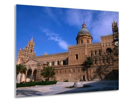 Exterior of Cathedral, Palermo, Sicily, Italy-Stephen Saks-Metal Print
