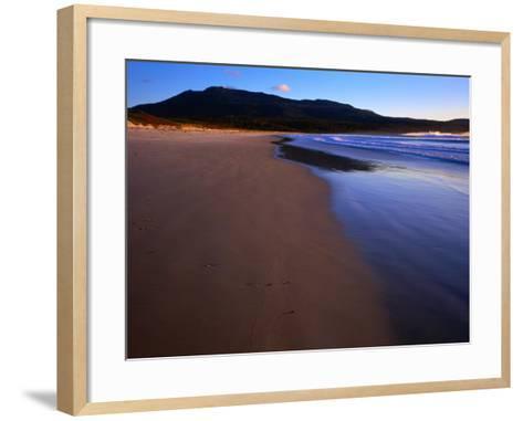 Shoreline Maria Island National Park, Tasmania, Australia-Rob Blakers-Framed Art Print