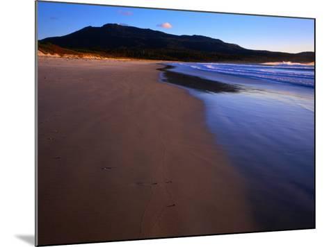 Shoreline Maria Island National Park, Tasmania, Australia-Rob Blakers-Mounted Photographic Print