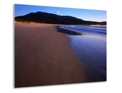 Shoreline Maria Island National Park, Tasmania, Australia-Rob Blakers-Metal Print