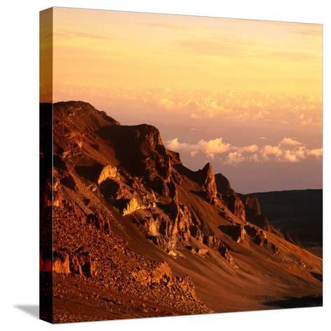 Haleakala Crater, Haleakala National Park, Maui, Hawaii, USA-Wes Walker-Stretched Canvas Print