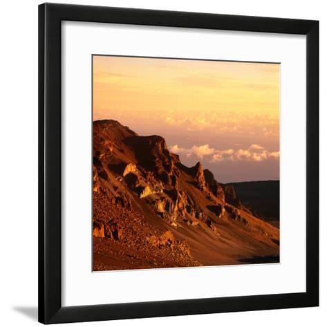 Haleakala Crater, Haleakala National Park, Maui, Hawaii, USA-Wes Walker-Framed Art Print