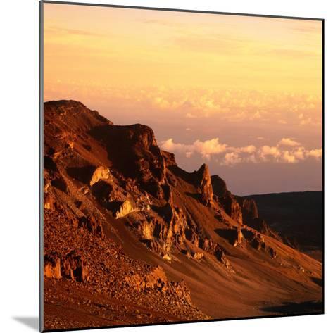 Haleakala Crater, Haleakala National Park, Maui, Hawaii, USA-Wes Walker-Mounted Photographic Print