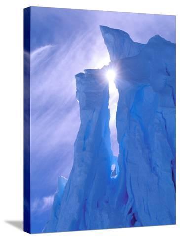 Iceberg, Australian Antarctic Territory, Antarctica-Pete Oxford-Stretched Canvas Print