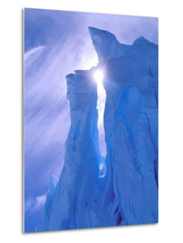 Iceberg, Australian Antarctic Territory, Antarctica-Pete Oxford-Metal Print