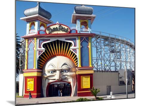 Entrance Gate to Luna Park, Melbourne, Victoria, Australia-David Wall-Mounted Photographic Print
