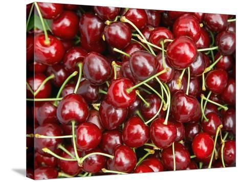 Cherries, Ripponvale, near Cromwell, Central Otago, South Island, New Zealand-David Wall-Stretched Canvas Print