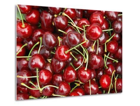Cherries, Ripponvale, near Cromwell, Central Otago, South Island, New Zealand-David Wall-Metal Print