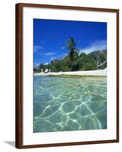 The Baths, Virgin Gorda, British Virgin Islands, Caribbean-Robin Hill-Framed Art Print