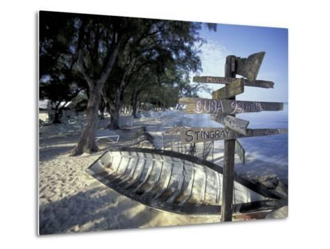 View of Rum Point on Grand Cayman, Cayman Islands, Caribbean-Robin Hill-Metal Print